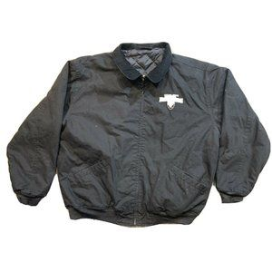 Men's Oakland Raiders Full Zip Jacket Size XL